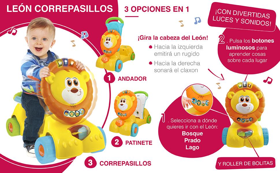 winfun - Correpasillos luces y sonidos León (46334)
