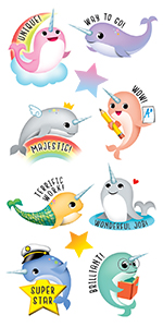 narwhals stickers