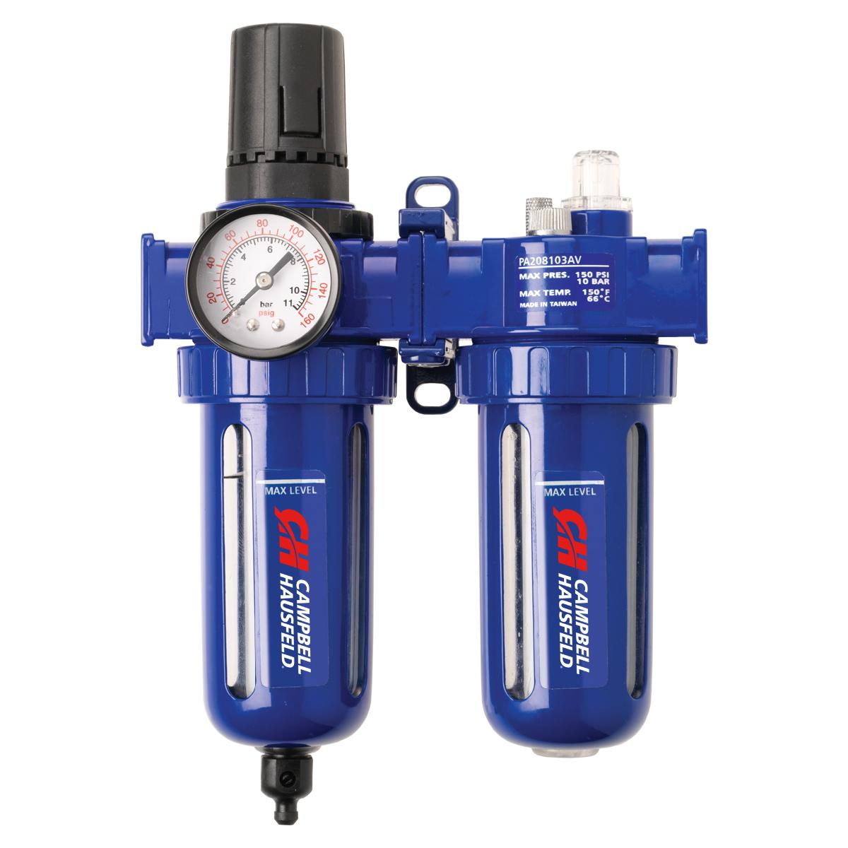 Filter Regulator And Lubricator 3 In 1 Frl Unit 3 8