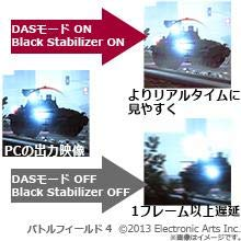 DAS BlackStabilizer ブラックスタビライザー ゲーム ゲーミング