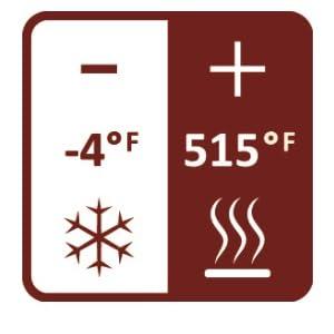 Emile Henry HR Ceramic temperature range
