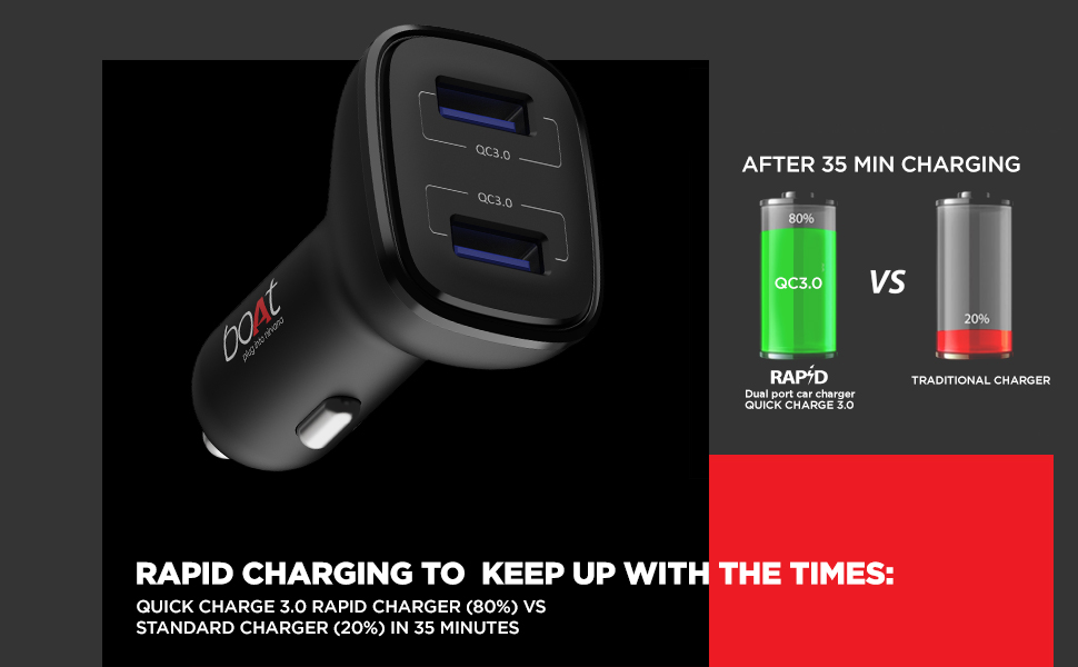 boat dual car charger