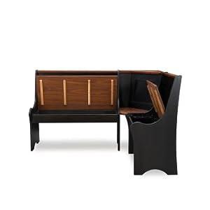 The Linon Sadie Antique Nook, Black