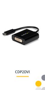 USB-C to DVI