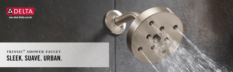 trinsic, shower faucet