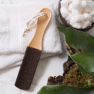 foot file, pedi, heel, dead skin, microplane, sander, beauty, cracked, handle, softener, salon