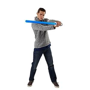 Amazon Com Star Wars The Black Series Obi Wan Kenobi Force Fx Lightsaber Toys Games