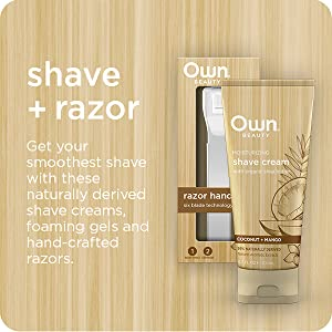 cross-sell, shave, razor, own