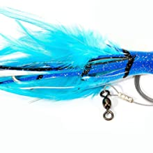 """Boone DOLPHIN RIG  7/0 WIRE RIGGED,BLUE MACK,5 1/2""""/1 OZ"""