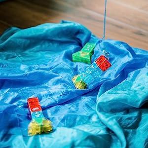 Magna-Qubix magnetic building blocks math fishing