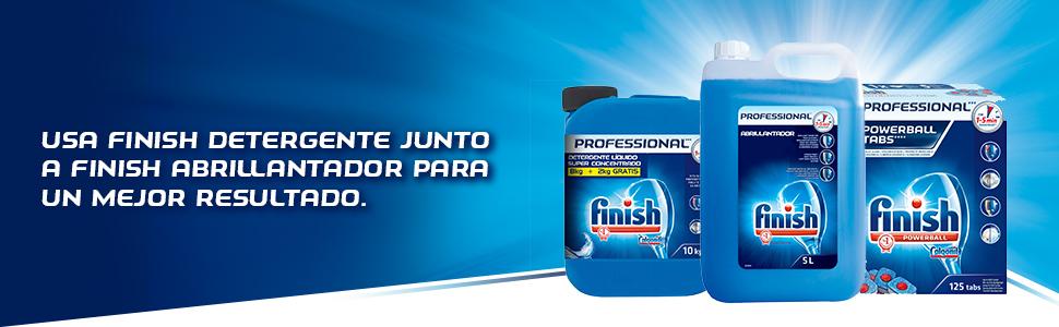 Finish Lavavajillas Regular, Liquido Formato Profesional - 10 kg ...