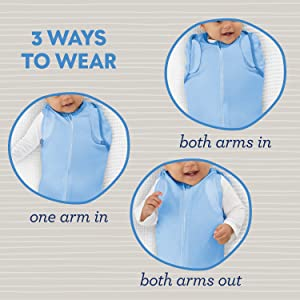 SwaddleMe Arms Free Convertible Pod