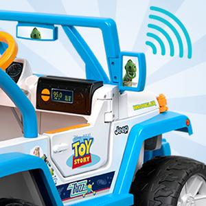 Amazon Com Power Wheels Disney Pixar Toy Story Jeep Wrangler Toys Games