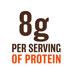 8g per serving of protein