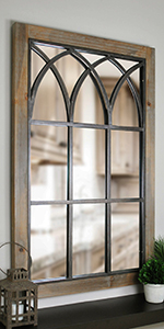 arched mirror, farmhouse