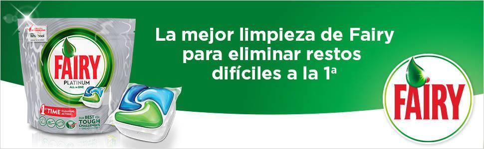 Fairy Platinum Cápsulas para Lavavajillas - Pack de 32 unidades ...
