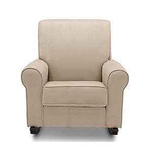 Strange Delta Children Rowen Nursery Rocking Chair Dove Grey Beatyapartments Chair Design Images Beatyapartmentscom