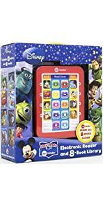 Mickey Mouse, Toy Story and More! Me Reader Electronic Reader 8-Book Library