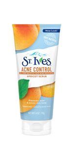 St. Ives Acne Control Face Scrub Apricot 6 oz