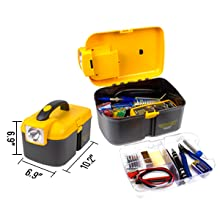 Soldering iron kit include small size tool box and large capacity
