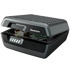 SentrySafe Fire Safe, Waterproof Fire Resistant Chest with Digital Lock, 0.36 Cubic Feet, Large