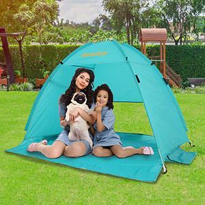 Alvantor Beach Tent Coolhut Plus Beach Umbrella Outdoor Sun Shelter Cabana Automatic Instant Pop-Up