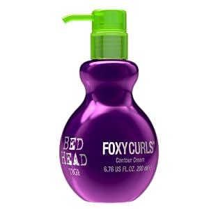 tigi bed head bedhead foxy curls contour cream curly wavy hair styling control frizzy control