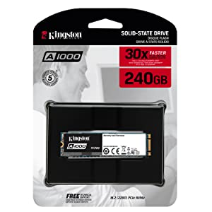 A1000, NVMe, PCIe, SSD, Solid State Drive, Crucial, WD, 240, 480, 960, 30X, HDD, Kingston