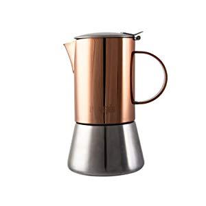 Tetera La Cafetiere, acero inoxidable, 4 Cup Stovetop, Copper ...