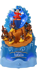 Disney's Fantasia Christmas ornament with music, light and movement for Mickey Mouse fans