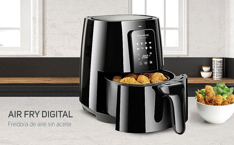 Friteuse à air Fry Digital Taurus sans huile