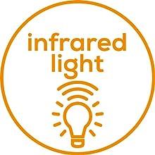 Infrarot-Lichtpunkte