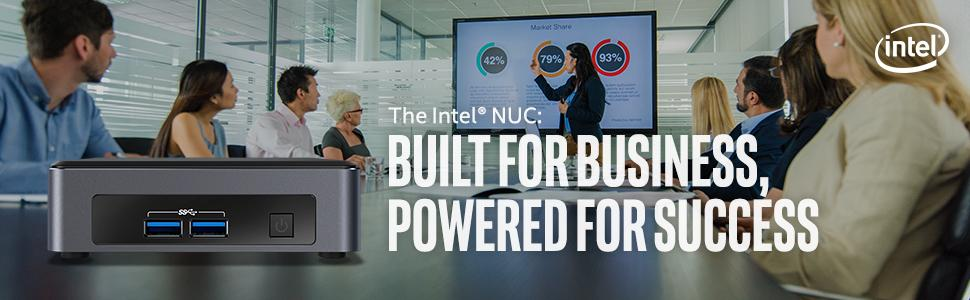 Intel NUC 7 Business Kit (NUC7i3DNKH1E) - Core i3, Tall, Add't Components  Needed