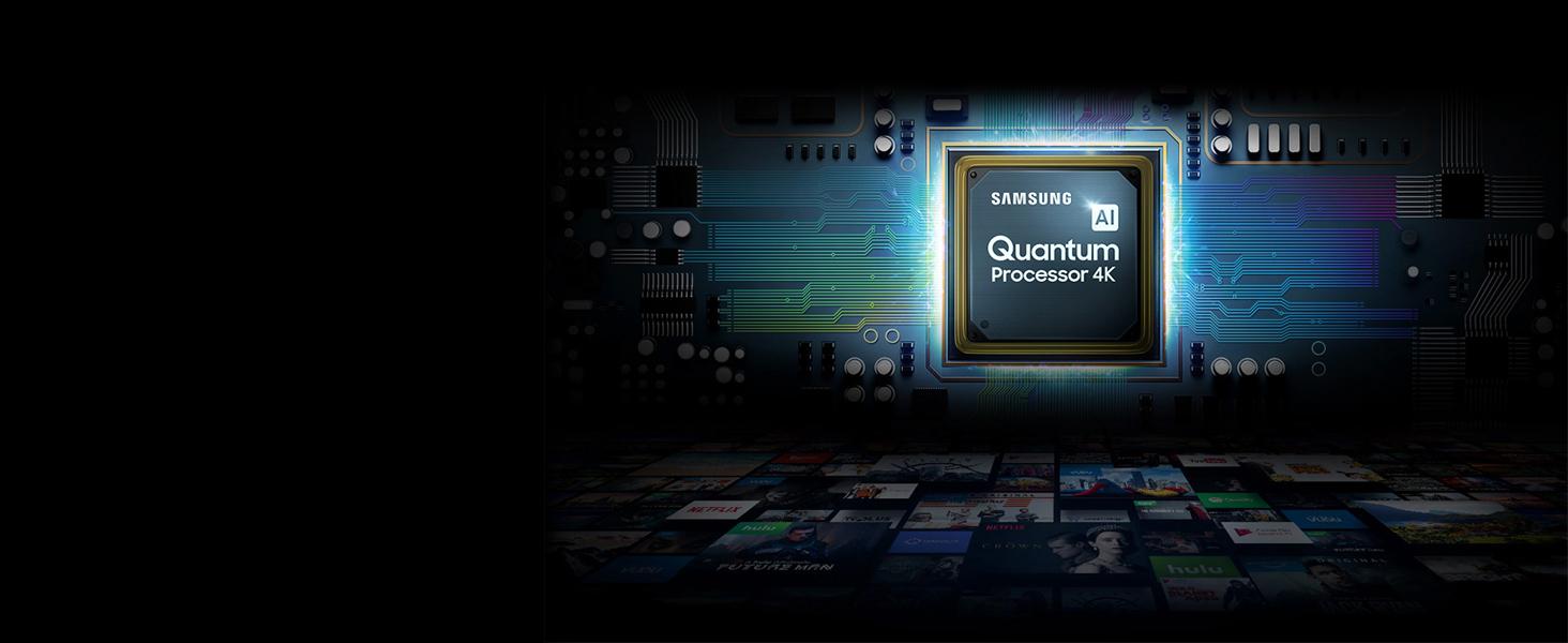 Samsung's powerful 4K Quantum processor
