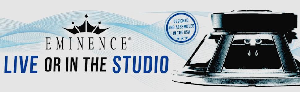 eminence american standard beta 12a 12 pro audio speaker 250 watts at 8 ohms. Black Bedroom Furniture Sets. Home Design Ideas