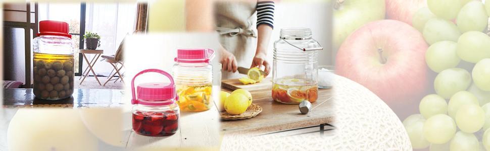 手作り レモン酒 カリン酒 フルーツ 果実 果肉