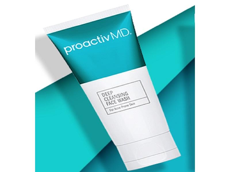 proactivMD, proactiv, proactive, face wash, deep cleansing face wash, cleanser, gentle cleanser