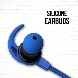 Rhythm&Blues A10BT in Ear Wireless Earphones (Blue)