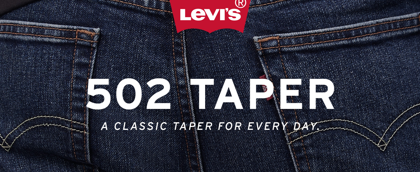 Mens Levis 502 Taper Jean