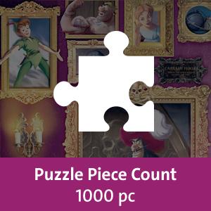 Jigsaw Puzzles, Adult Puzzles, 1000 piece puzzles, Disney Villainous, Ravensburger puzzles