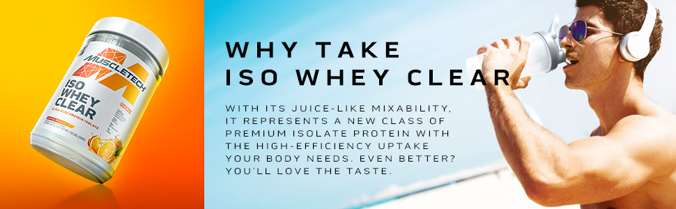 Why take Iso Whey Clear
