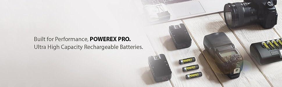 Amazon.com: Powerex Pro MHRAA4PRO - Pilas recargables AA ...