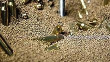 brass catcher, reloading, brass retriever, frankford arsenal, reloading, reloader, reloading supply