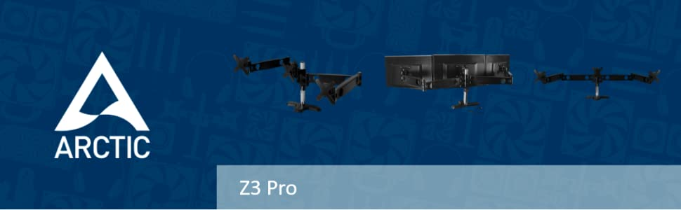 Arctic Z3 Pro monitor arm