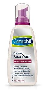 Cetaphil Foaming Face Wash for Redness-Prone Skin