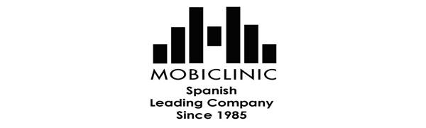 Mobiclinic, Modelo Mezquita, Andador para ancianos, mayores, adultos o minusvalidos, de aluminio, ligero, plegable, con asiento y sin ruedas, Color ...