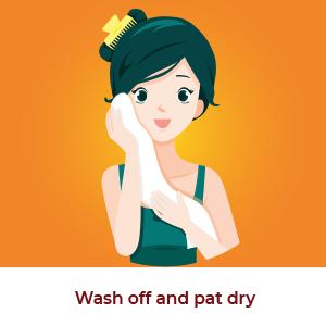 orange facewash