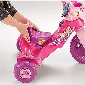 Amazon Com Fisher Price Barbie Lights Amp Sounds Trike
