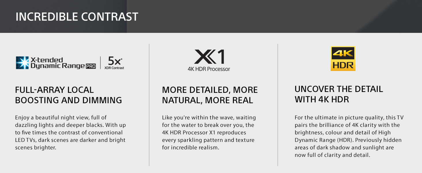 Amazon Sony XBR55X900E 55 Inch 4K Ultra HD Smart LED TV 2017