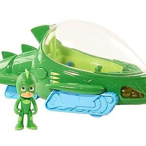 PJ Masks - Vehículo Deluxe Gekkomóvil (GEKKO)